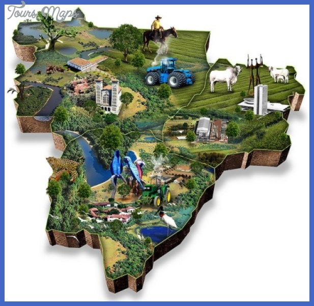 brazil map tourist attractions  4 Brazil Map Tourist Attractions