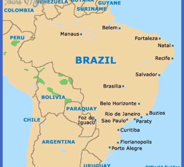 Rio de Janeiro Map Tourist Attractions ToursMapsCom – Rio De Janeiro Tourist Attractions Map
