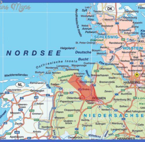 news tourism world: Bremen Karte Regionen Bild