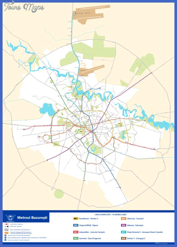 bucharest metro map Zimbabwe Metro Map