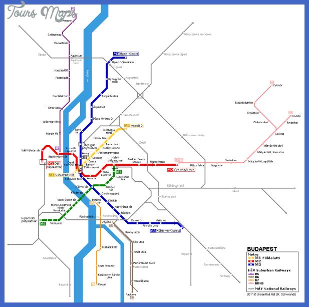 budapest 1 Serbia Metro Map