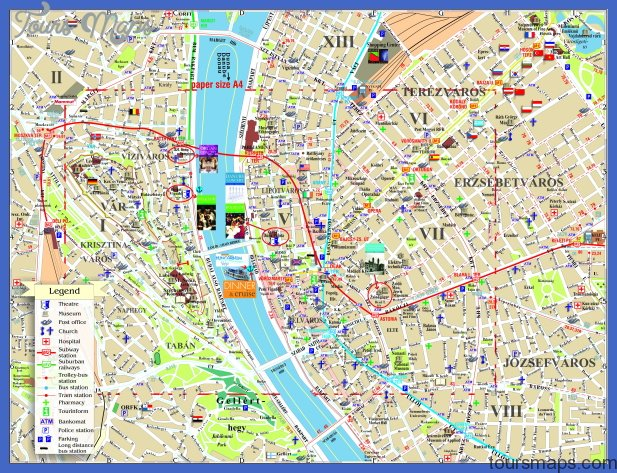 Budapest Metro Map In English Archives Toursmaps Com