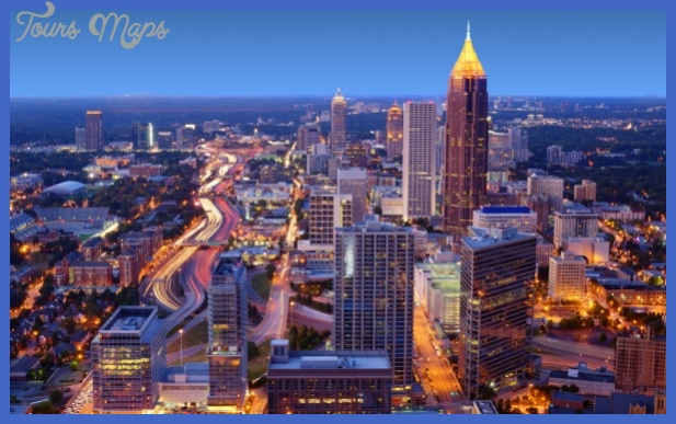 budget travelers should make their way to atlanta georgia in usa Best cities to travel to in the US