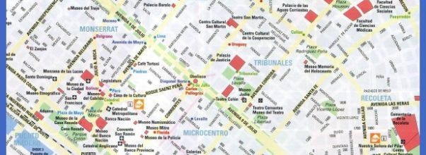 argentina tours from buenos aires map