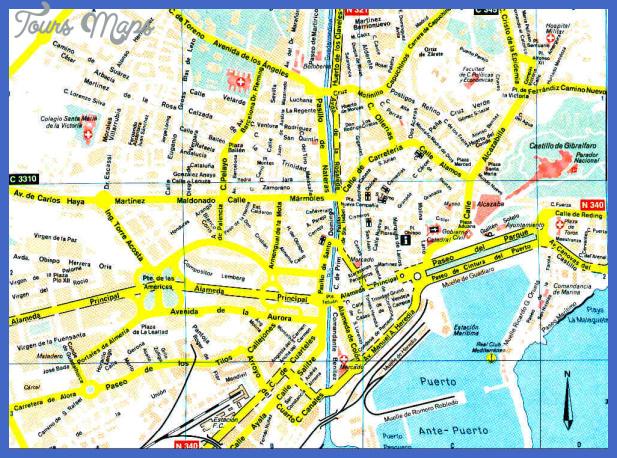 c malaga Mozambique Subway Map