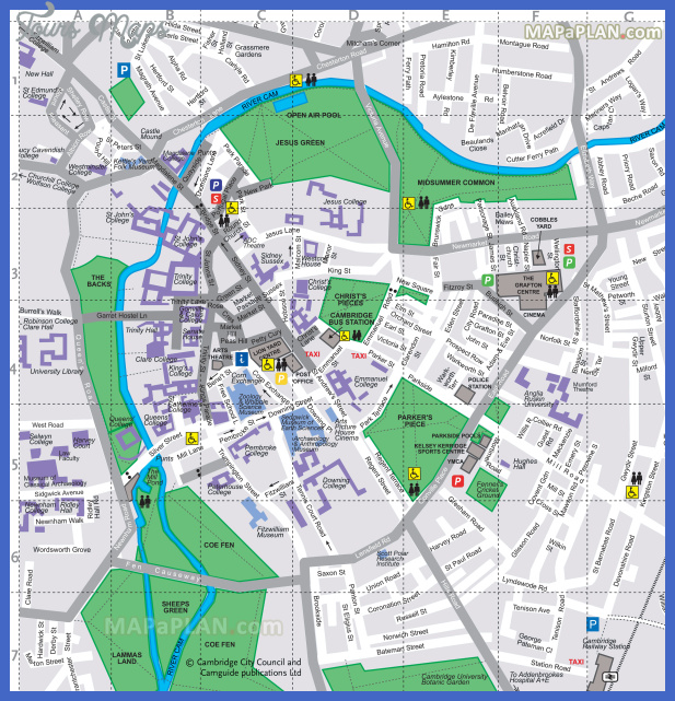 cambridge top tourist attractions map 09 free virtual map of famous travel attractions high resolution Alington Map Tourist Attractions