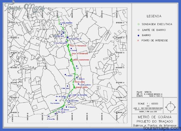 campinas subway map  3 Campinas Subway Map