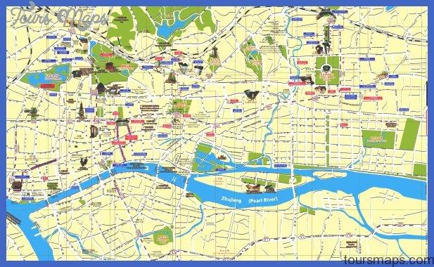 canton guangzhou map Tianjin Map Tourist Attractions