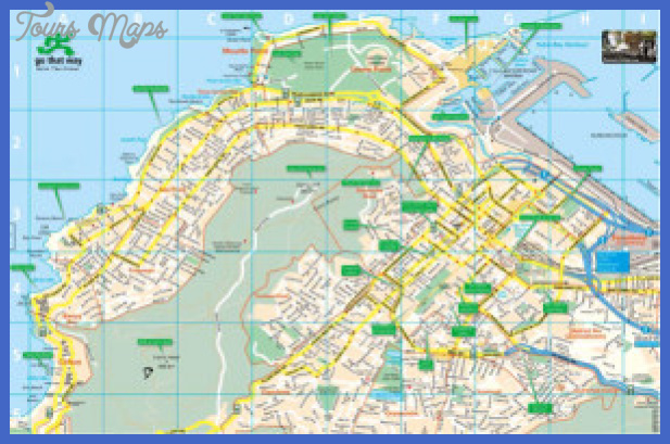 cape town tourist map gothatway 1 300x196 Cape Town Map Tourist Attractions