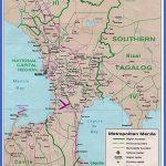 carte region manille legende 150x150 Philippines Metro Map