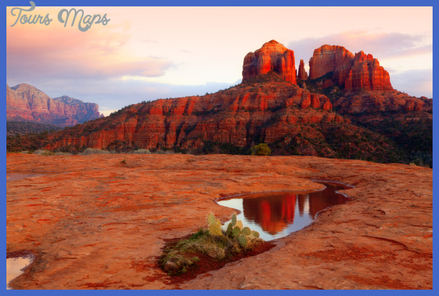 cathedral rock reflection 000018175548 medium 1 Best summer destinations in USA
