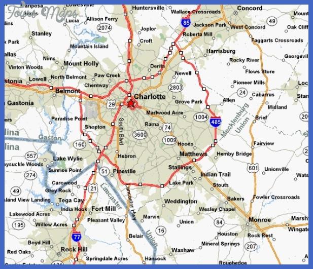 charlotte map  5 Charlotte Map