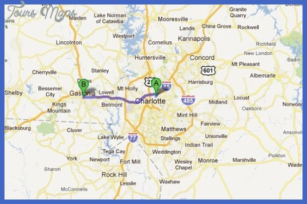 Charlotte Metro Map  Map  Travel  Holiday  Vacations