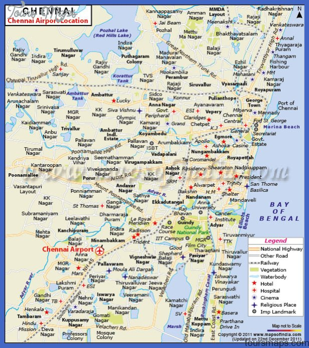 chennai map | pictures download