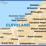 cleveland map 150x150 Cleveland Map Tourist Attractions