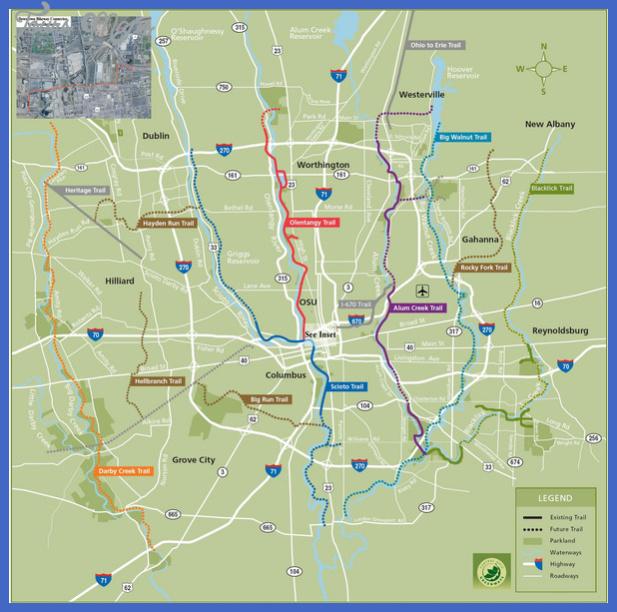 columbus bike map mediumthumb Columbus Map