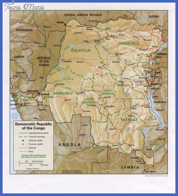 congo democratic republic map  1 Congo, Democratic Republic Map