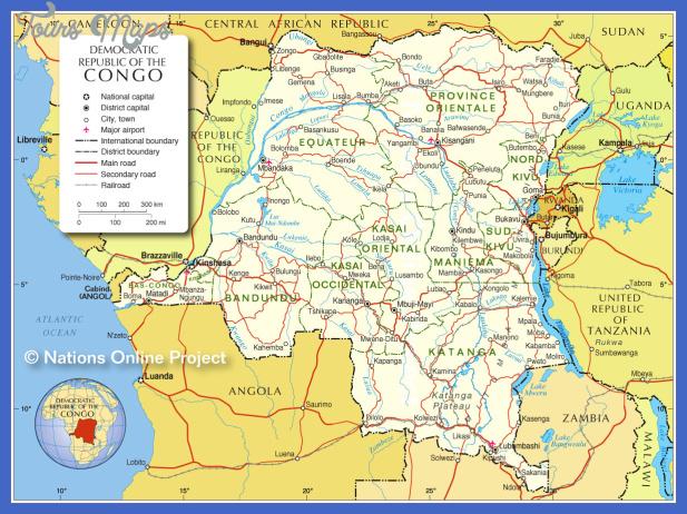 congo democratic republic subway map  1 Congo, Democratic Republic Subway Map