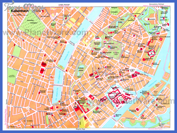 copenhagen map big 1 Copenhagen Metro Map
