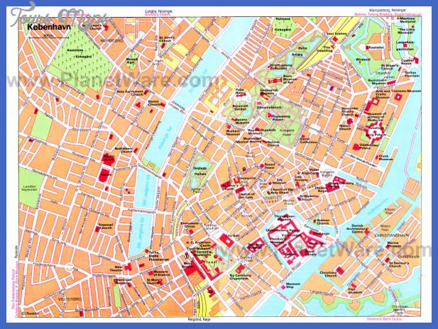 copenhagen map big Copenhagen Subway Map