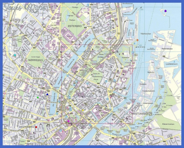 Copenhagen Subway Map ToursMapscom
