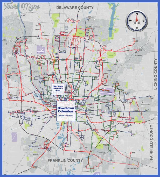 cotasystemmap Columbus Map