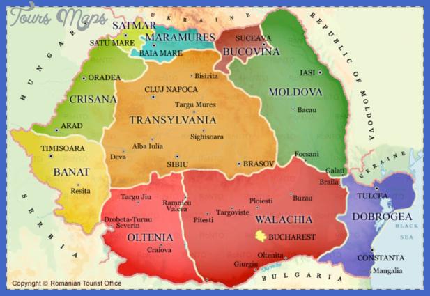 csm romania regions map 3511296634 Romania Map Tourist Attractions