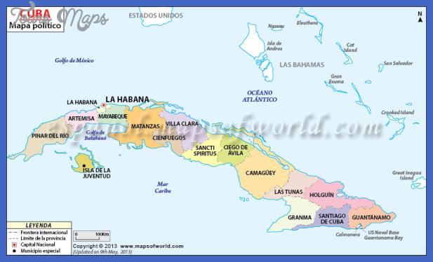 cuba metro map 1 Cuba Metro Map