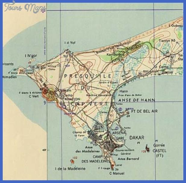 dakar map2 Senegal Subway Map