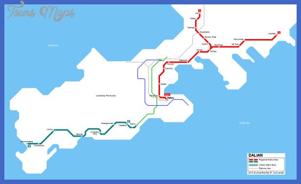 dalian metro map Dalian Metro Map