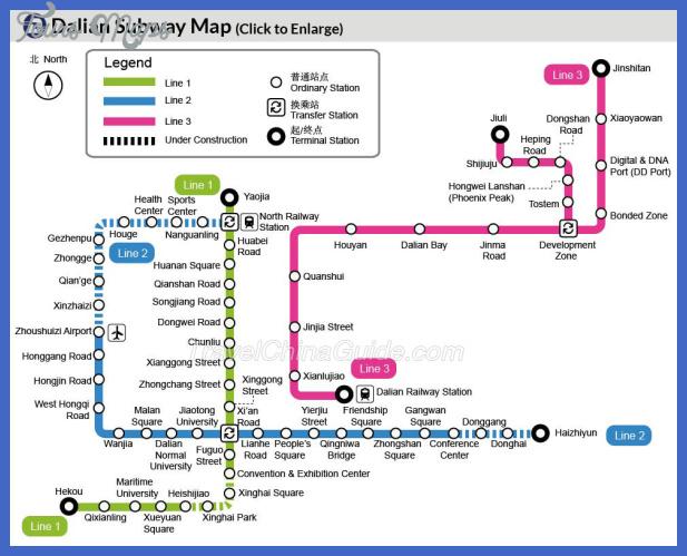 dalian subway Dalian Metro Map