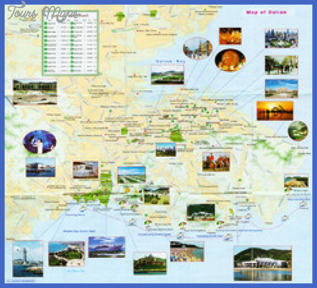 dalian tourist map 3 thumb Dalian Map Tourist Attractions