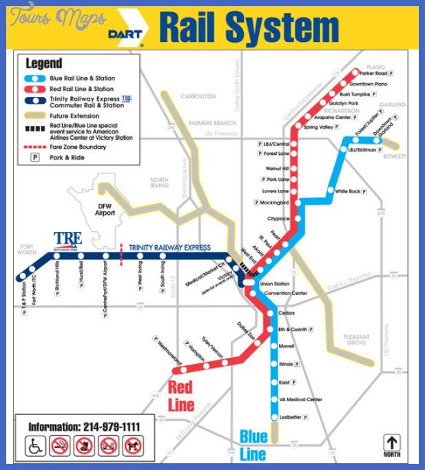 dallas metro map  0 Dallas Metro Map