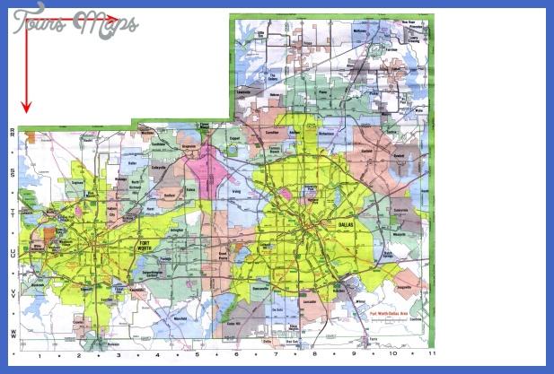 dallasfort worth map 2 Dallas Fort Worth Map