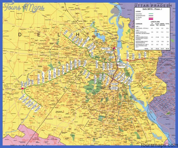 delhi metro map 2 India Metro Map