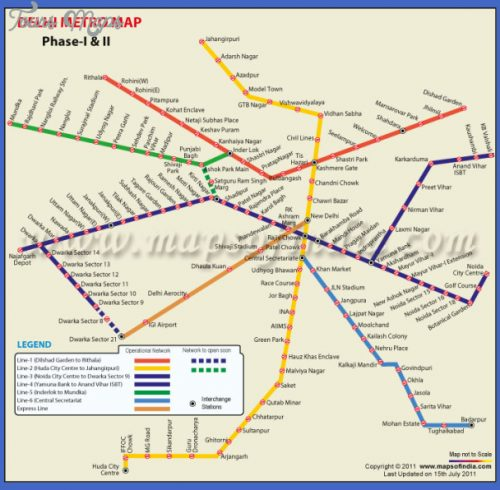 Delhi Metro Map Pdf Archives Map Travel Holiday Vacations - Sweden metro map pdf
