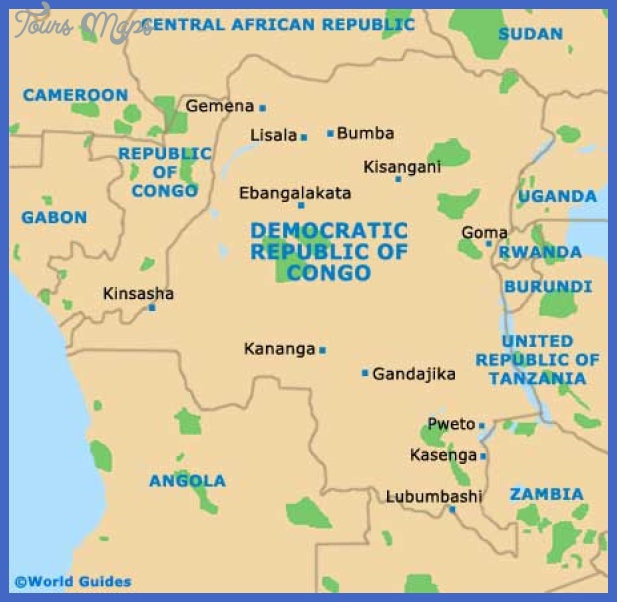 democratic congo map Congo, Democratic Republic Subway Map