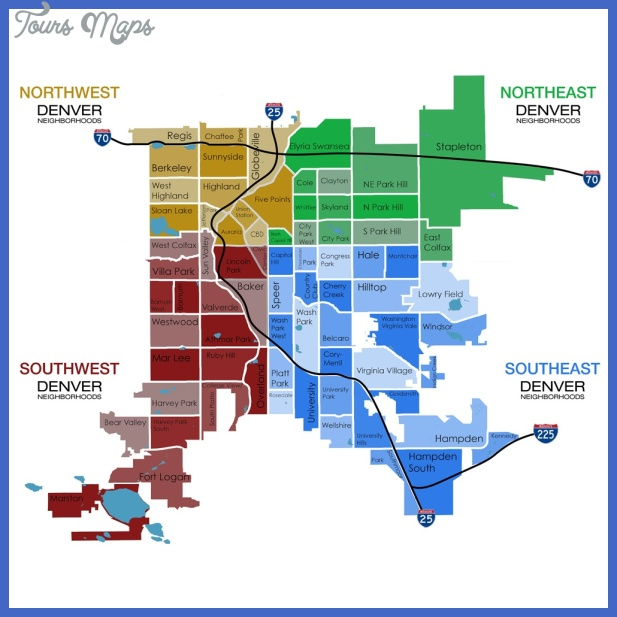 denver metro map Denver Metro Map
