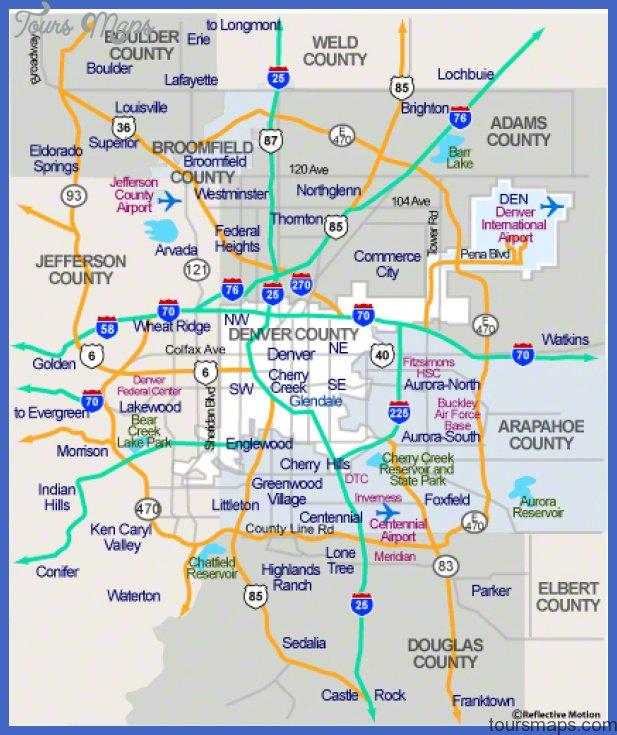 denver area d Denver Metro Map