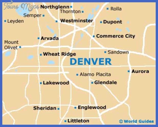 denver map Denver Map