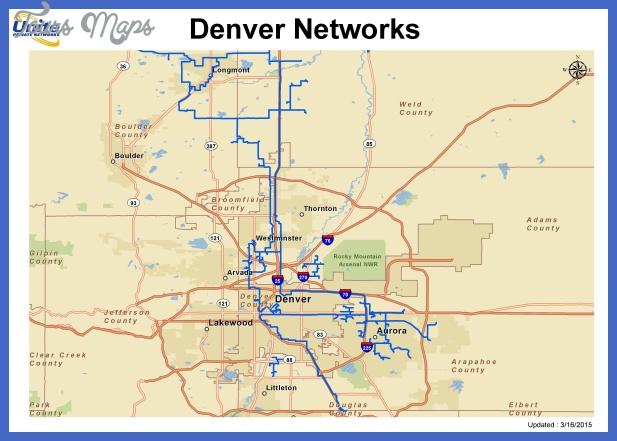 denverstreetmap Lincoln Metro Map