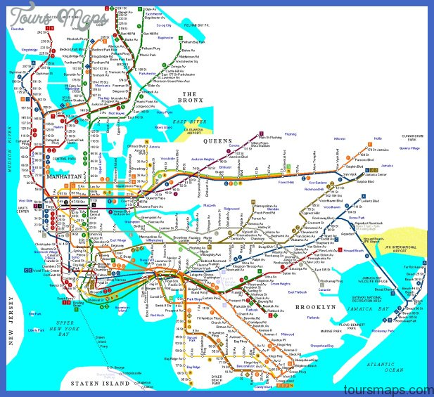 detailed map of nyc metro mtr Ethiopia Subway Map