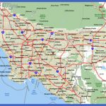 detailed road map and highways map of los angeles area 1 150x150 Los Angeles Map