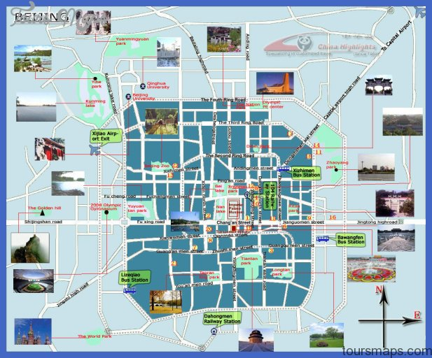 detailed tourist map of beijing city Boise City Map Tourist Attractions