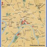 downtown moscow tourist map 150x150 Moscow Map Tourist Attractions