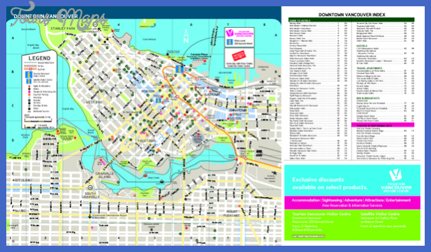 downtown vancouver metro map mediumthumb pdf Vancouver Subway Map