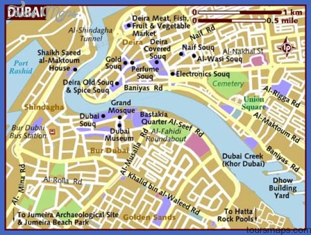 dubai map and images of dubai map citiviu com Dubai Map Tourist Attractions
