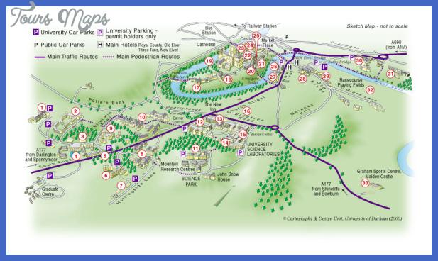durham map Durham Map
