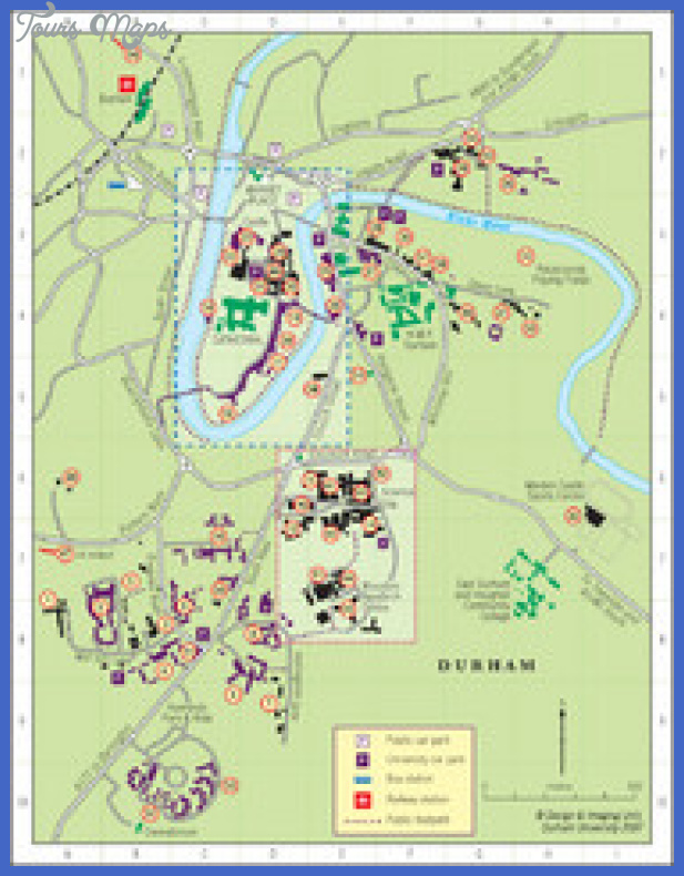 durham tourist map thumb Greensboro Map Tourist Attractions