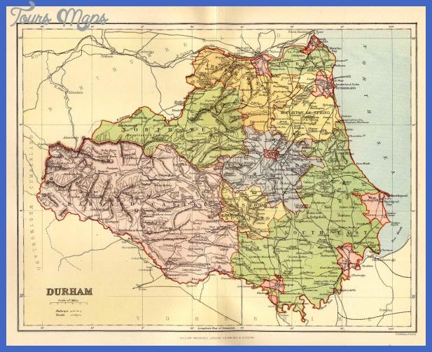 durham Durham Map